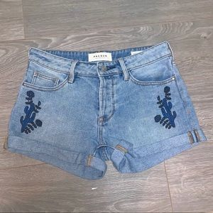 PacSun Cactus Girlfriend Shorts